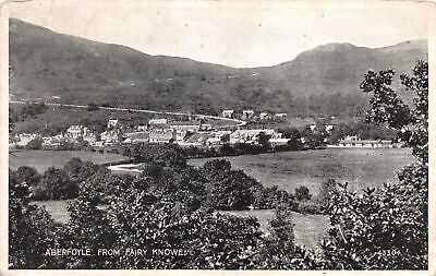 £6.75 • Buy R272765 Aberfoyle From Fairy Knowe. 43304. Valentines Silveresque Postcards. Val