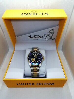 View Details New Mens Invicta 24862 Garfield Pro Diver Limited Edition Automatic Watch • 43.00£