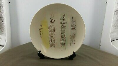 $ CDN75 • Buy Blue Mountain Pottery  Hand Painted  Native Theme Plate