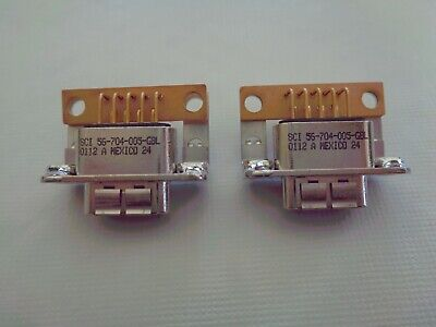$9.99 • Buy SCI 56-704-005 D-Sub Connector W/ EMI, DB9 Female PCB Mount (2 Piece Lot) - New