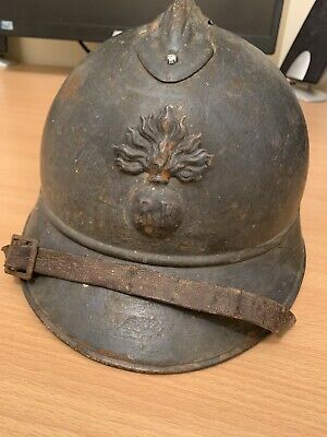 Ww1 French Adrian Helmet Original • 138£