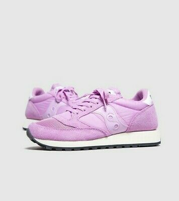 Saucony Jazz Womens Pink Vintage OG Trainers Saucony Shoes Size 4.5 Uk Trainers  • 19.99£