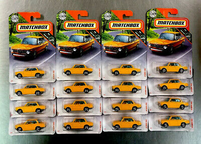 $27.99 • Buy Matchbox '69 Bmw 2002 ( Lot Of 16 ) Mbx Road Trip Yellow Paint Free Shipping..