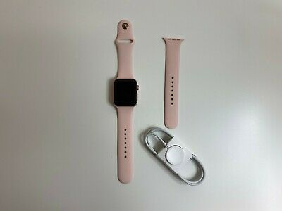 $ CDN192.22 • Buy Apple Watch Series 2  42mm PINK Aluminum Case GPS With Sport Band