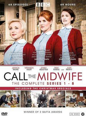 £84.99 • Buy Call The Midwife Complete Series 1-8 Dvd Collection Season 1 2 3 4 5 6 7 8 Uk R2