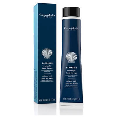 Crabtree & Evelyn La Source Overnight Hand Therapy Cream 75g Boxed❤ • 4.99£