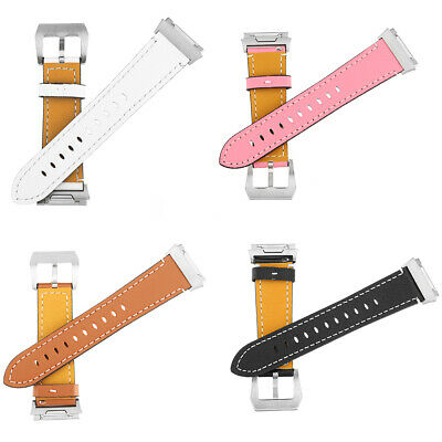 AU32.89 • Buy Replacement Leather Watch Wrist Sports Band Strap For Fitbit Ionic Wristband