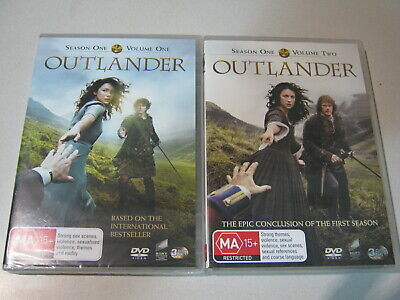 AU20 • Buy DVD OUTLANDER Season 1 Volume 0ne And Volume 2 And 6 Disc Togther Special/feat