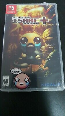 AU270 • Buy First Print The Binding Of Isaac Afterbirth + - Factoy Sealed - Nintendo Switch