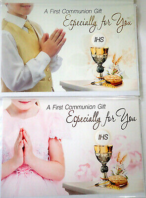 £1.99 • Buy 1st First Holy Communion Gift Money Wallet Card ~ Voucher Wallet Girl's / Boy's