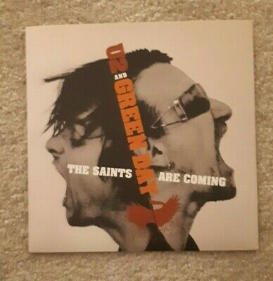 Green Day / U2 - The Saints Are Coming - 7  Vinyl - 7 Inch - The Skids • 12£