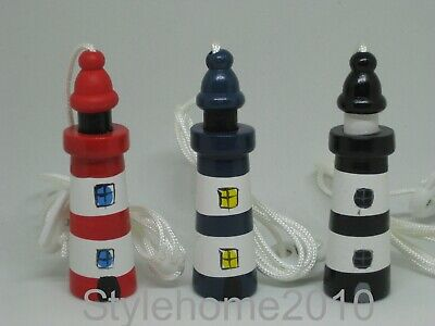 £3.25 • Buy  Lighthouse Cord Pull / Light Pull, Seaside / Nautical Theme Wooden, Great Value