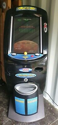 Coin Operated New £1 Video Game Arcade Machine Galactic Space Invaders 1-2 Play • 495£