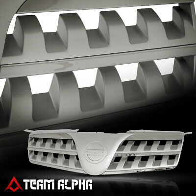 $39.95 • Buy Fits 04-06 Nissan Maxima Silver [Classic Mesh] Upper Front Grill Bumper Grille