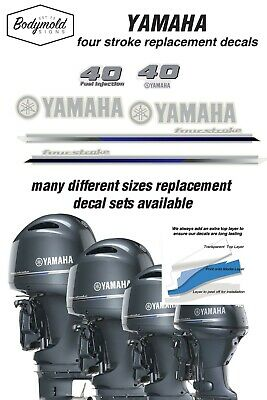 AU79 • Buy YAMAHA  40HP Four Stroke 2013 Outboard Decals