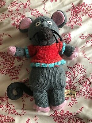 Latitude Enfant Marie The Mouse Knitted Soft Toy Plush 10 Inches Tall • 1.60£