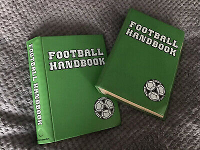 Collection Of Marshall Cavendish Football Handbooks Within Two Green Files. • 20£