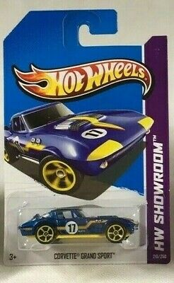 $7.99 • Buy Hot Wheels Corvette Grand Sport Blue 2013