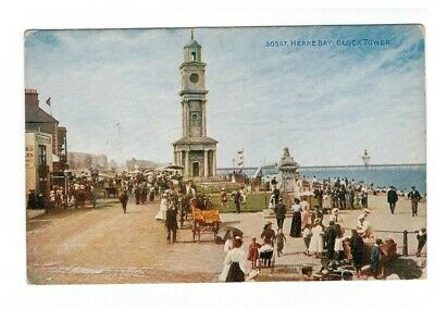 Herne Bay Clock Tower Postcard 771 • 1.99£