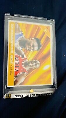 $1450 • Buy ***RARE*** THE ONLY ONE KNOWN TO EXIST!!1/1 Only One With Both Autographs