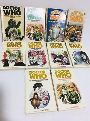 Vintage Collection Of Dr Who Paperback Books, Some Target • 25£