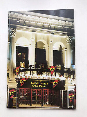 £5.95 • Buy OLIVER  Theatre Programme London WESTEND JONATHAN PRYCE