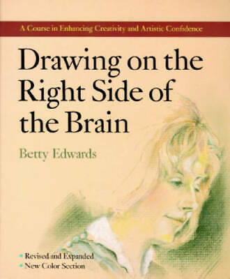 $3.99 • Buy Drawing On The Right Side Of The Brain - Paperback By Edwards, Betty - VERY GOOD