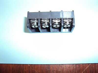 $1.50 • Buy 4-Position PCB Mount Single Row Barrier Terminal Block  8.255mm/0.325  Pitch Nos