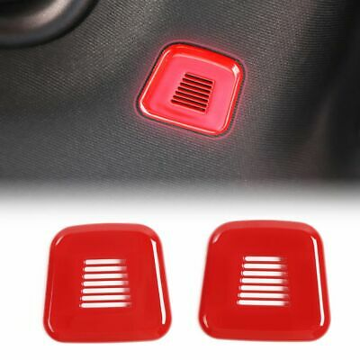 $17.89 • Buy Car Top Microphone Decoration Cover Trim For Dodge Challenger 15-19 Accessories