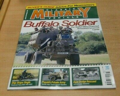 Classic Military Vehicle Magazine MAR 2020 Buyers Guide For Newcomers, BSA WDm20 • 8.49£