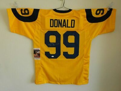 $ CDN134.34 • Buy Aaron Donald Autographed Signed Jersey NFL Los Angeles Rams JSA W/ COA Pro Bowl