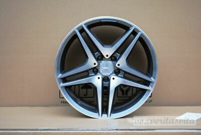$779 • Buy 19  Gunmetal Amg Style Wheels Rims Fits Mercedes Benz S300 S320 S430 S500 S550