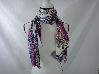 $5.55 • Buy INC International Concepts Pink Multi Confetti Print Wrap / Scarf ONE SIZE