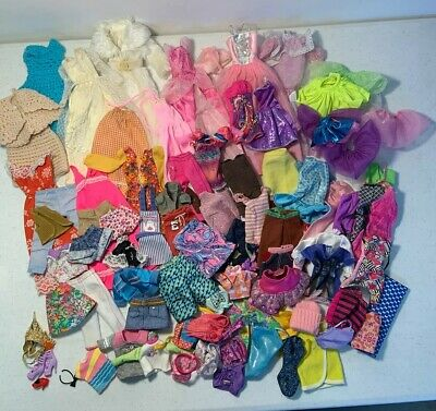 $ CDN19.85 • Buy BARBIE DOLL CLOTHES & Shoes Purses LOT Vintage & Handmade Branded & Unbranded