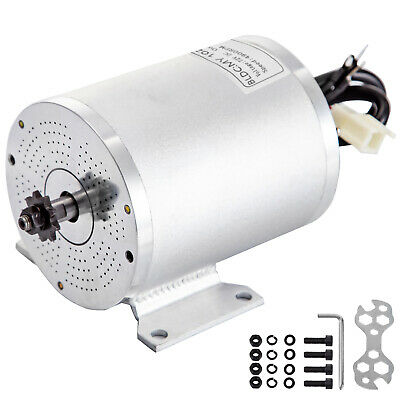 Brushless Motor Go Kart Electric Motor For Go Kart 72V 3000Ww/Mounting Bracket • 92.99£