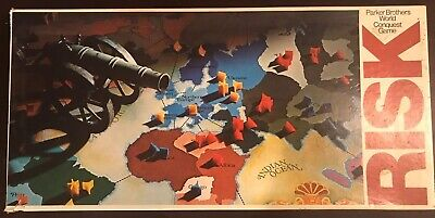 $25 • Buy 1975 Risk Board Game, Park Brothers No. 44, World Conquest Game (FREE SHIPPING)