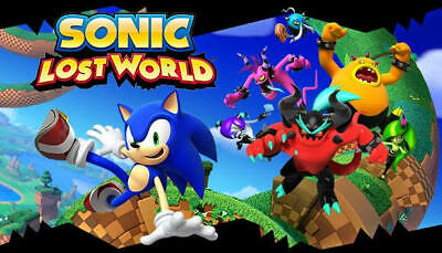 AU23.99 • Buy Sonic Lost World PC STEAM GAME Digital Download Code (no Disc) The Hedgehog NEW
