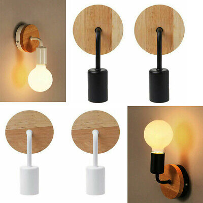£12.86 • Buy Modern Wall Light Industrial Rustic Sconce Lamp Retro Fitting Fixture