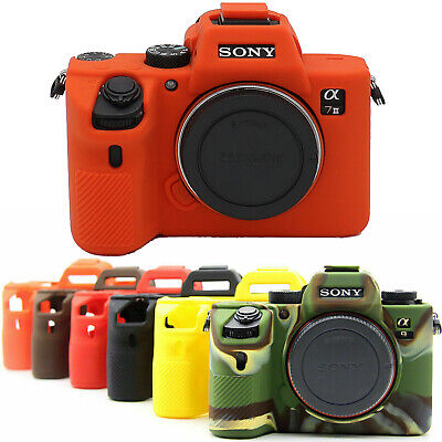 $ CDN22.18 • Buy New Silicone Case Body Cover Skin Protector Bag For Sony A7III A9 A7RIII Camera