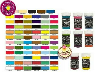 Sugarflair Concentrated Food Colouring Paste Gel Spectral Vibrant Colour 25g • 4.49£