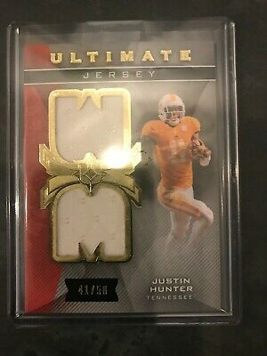 $1.49 • Buy 2013 Upper Deck Ultimate Collection Jersey 41/50 #UJ-JH Justin Hunter Rookie