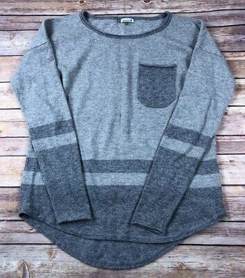 $33.96 • Buy Smartwool Long Sleeve Merino Wool Blend Crew Sweater Gray Base Womens XS Loose