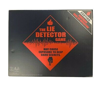£18.14 • Buy The Lie Detector Game - Electronic Adult Party Game By Hasbro - New & Sealed