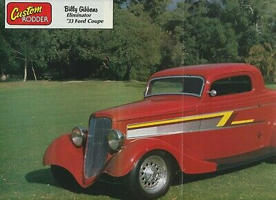 AU3 • Buy 1933 Ford Coupe Poster - ZZ TOP