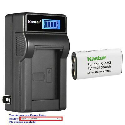 $24.99 • Buy Kastar Battery LCD Wall Charger For Olympus LB01 D-575 D-580 D-595Z E10 E-100 RS