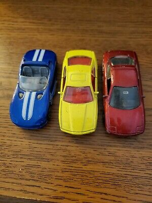 $3.99 • Buy Lot Of 3 Matchbox Cars Loose Dodge BMW Ford