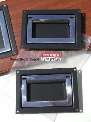 $149.97 • Buy HANDLES 1.810.075.01 For STUDER A810 / A807 Side Panels VERY RARE 1.810.075.01 C