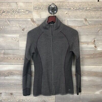$49.99 • Buy Smartwool Womens S Small Alamosa Full Zip Sweater Jacket Wool