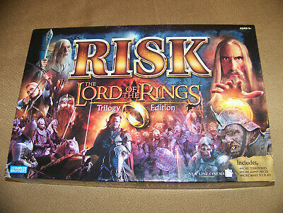 $47.95 • Buy Lord Of The Rings Risk Trilogy Edition New Sealed Contents 2003