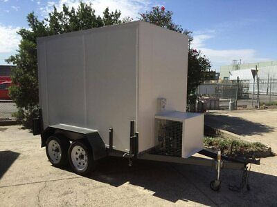 AU9500 • Buy Cool Room 9 X 5 - Mobile Tandem Trailer Coolroom - Custom Built - Brand New